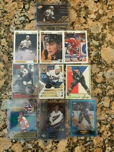 Jaromir-Jagr-Ten-Card-Lot-NHL-Legend-and-Great-See-Pics-Info-Below