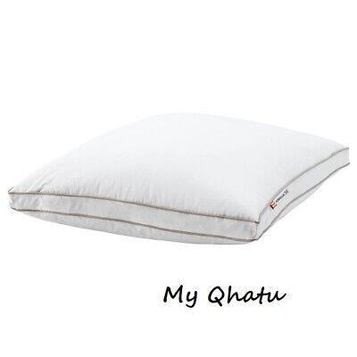 "IKEA LUNDTRAV QUEEN Pillow SOFT 90/% Duck Feathers 10/% Down 20x30/"" BRANDNEW FREES"