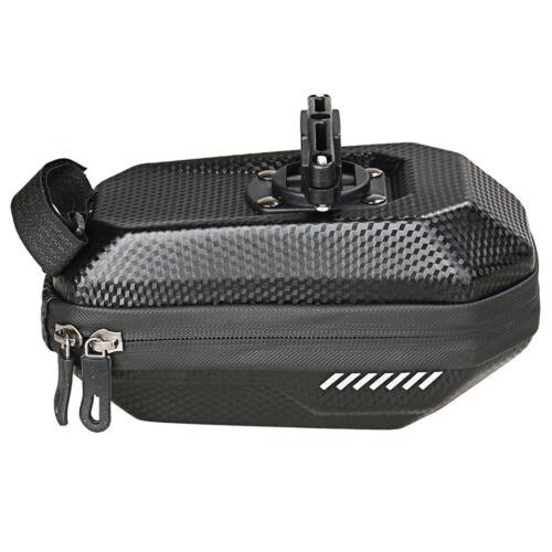1x Bike Bicycle Saddle Bag WaterProof Hard Shell EVA Cycling Seat Rear Pouch Bag