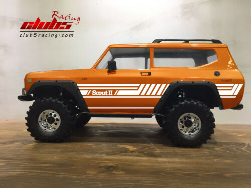 Style C Body Graphic Decal for Redcat Gen8