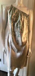 DAVID-SZETO-Blondie-s-Back-One-Shoulder-Silk-Dress-Size-44