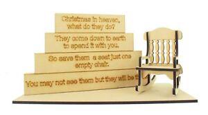 Natale-IN-PARADISO-Blocchi-Set-Memoriale-Regalo-Amato-NATALE-PARADISO-Craft
