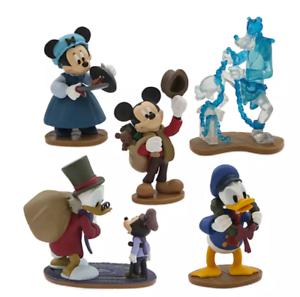 Mickey-Mouse-Disney-Navidad-Carol-PVC-Figura-Juego-Disneychristmascarol-Disney