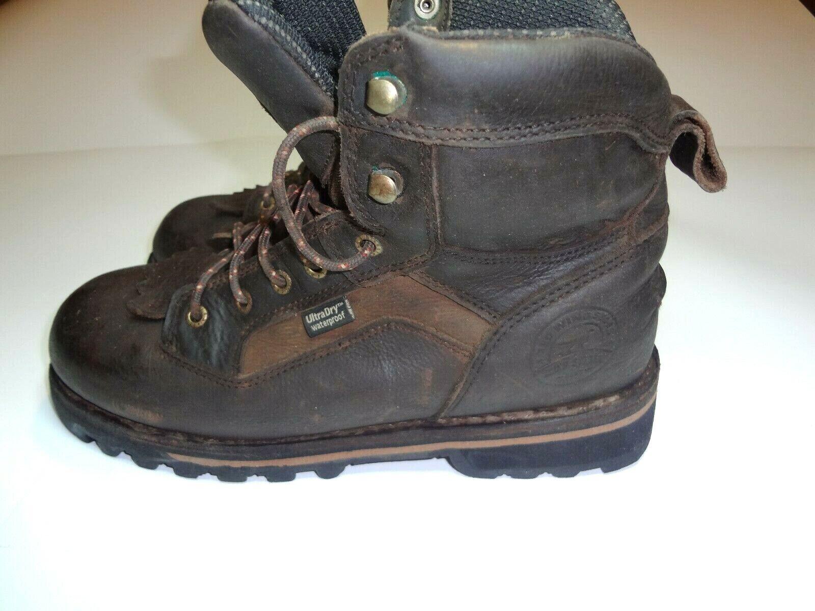 IRISH SETTER 878 Trailblazer Waterproof 7  Big Game Hunting Boot Mens Size 9 EE