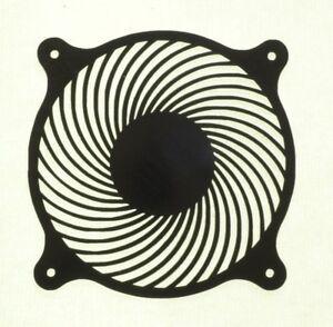 Fan-Cover-120mm-AIR-CIRCULATOR-Computer-Grill-Plastic-Black-Cooling-PC-modding