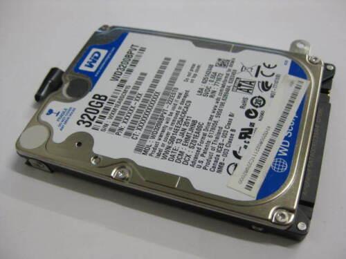 1 of 1 - Western Digital Scorpio Blue WD3200BPVT 320GB 5400 RPM internal notebook HDD