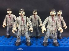 5 of  Mega Bloks Zombies Outbreak the Walking Dead loose army builder E