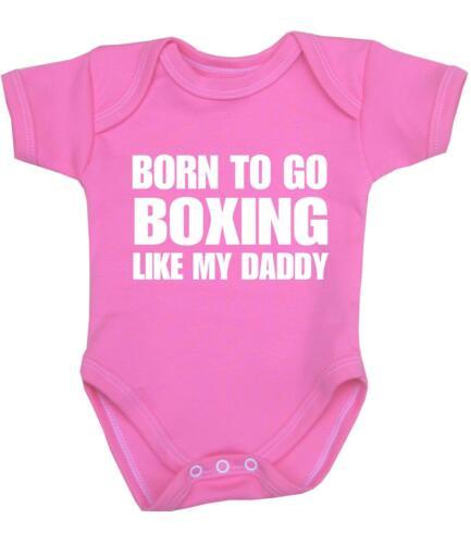 BabyPrem Baby Boys Girls Clothes BOXING Boxer Bodysuit Vest Shower Gifts Present