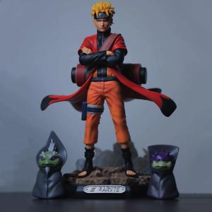 Naruto Uzumaki Sage Mode & Two Great Sage Toads Naruto ...