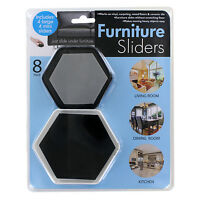 4 Large & 4 Mini Reusable Dining Room Table, Chair Sofa, Couch Furniture Sliders on sale