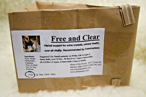 Free-amp-Clear-Herbal-Support-For-Cats-amp-Dogs-Urine-Crystals-and-Urinary-Health