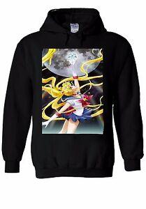 muy bonito 0db87 38f36 Detalles de Sailor Moon Anime espacio con Capucha Sudadera Jumper De  Cristal Hombre Mujer Unisex de 411- ver título original