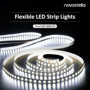 Ustellar-Dimmable-600-LED-SMD-2835-Light-Strip-Kit-with-Power-Supply-6000K-White