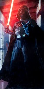 Life-Size-Darth-Vader-Sith-Lord-Death-Star-Choke-Hold-Star-Wars-Fine-Art-Giclee