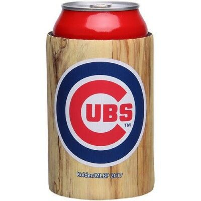 Fanartikel Woody Coozie Insulator Mlb Koozie Initiative Chicago Cubs Holz Schläger Dosenkühler