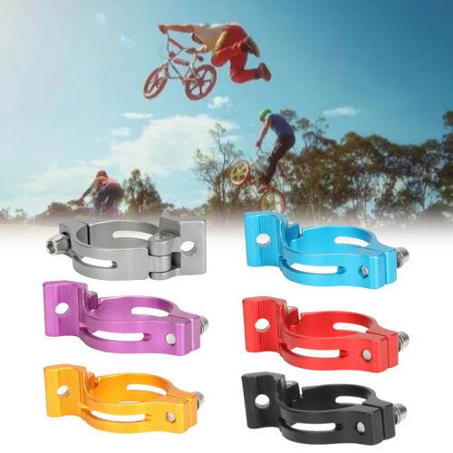 MTB Road Bicycle 31.8mm 34.9mm Seatpost Clamp Seat Tube Lock Clip Al Alloy