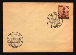 Germany-1944-FULDA-Event-Cover-Z16762