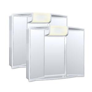 2x-Angy-Spiegelschrank-mit-Spiegel-und-Leuchte-hochwertig-Alibert-Bad