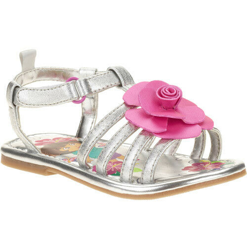 Nickelodeon Dora The Explorer Sandal Shoes Toddler Girl Size 7 8 9 10 11
