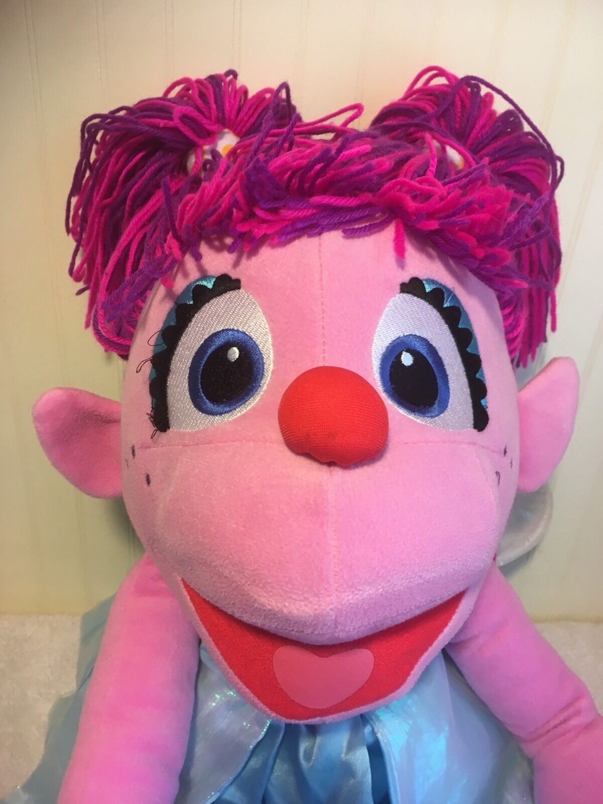 Sesame Street Workshop Abby Cadaby Plush 30