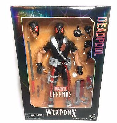 Agent of Weapon X Marvel Legends Deadpool Deluxe Collector Action Figure