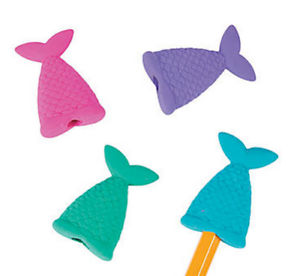 Pack-of-8-Mermaid-Tail-Eraser-Pencil-Toppers-Party-Loot-Bag-Fillers