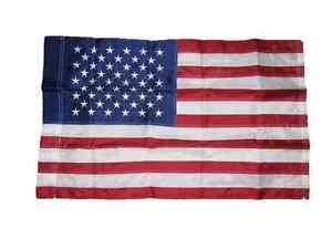 3x5 USA American Flag /& Pow Mia POWMIA USA EMBROIDERED 210D Premium Set