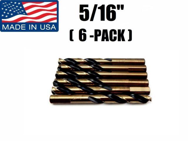 "Norseman Magnum Super Premium Drill Bit Jobber Length Drill Bits USA 9//16/"" QTY 1"