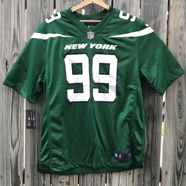 Mark Gastineau York Jets Nike Gotham Green Game Jersey 913128 398 Men's Size XL