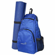 Yoga Mat Backpack Multi Purpose Crossbody Sling for Gym Beach Hiking or Travel