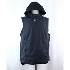 Nike Alpha Fly Rush Vest Hood Ventilated Black Football 908420-010