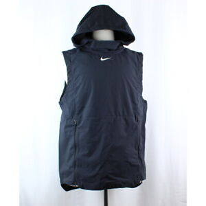 Details about Nike Team Authentic Men's Swoosh Alpha Fly Rush Hooded  Training Vest