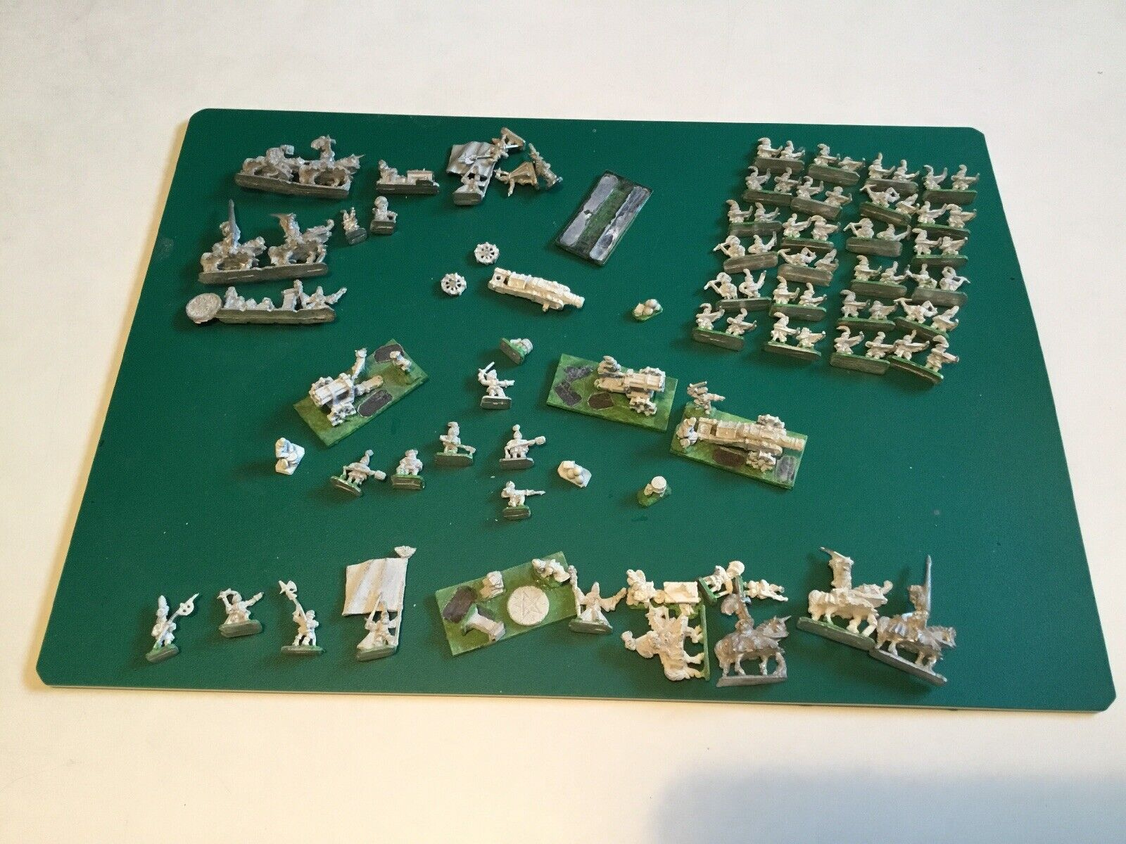 Warmaster Empire Bundle Lot Métal  figurines héros X2 arbalètes Volley Gun Cannon  économiser jusqu'à 70%