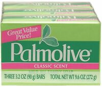 Palmolive Bath Bar Soap, Classic Scent 3.20 Oz, 3 Ea (pack Of 5) on sale