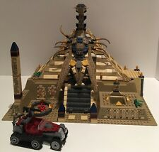 LEGO Pharaoh's Quest 7327 Scorpion Pyramid ~ Instructions ~ No Minifigures/Box