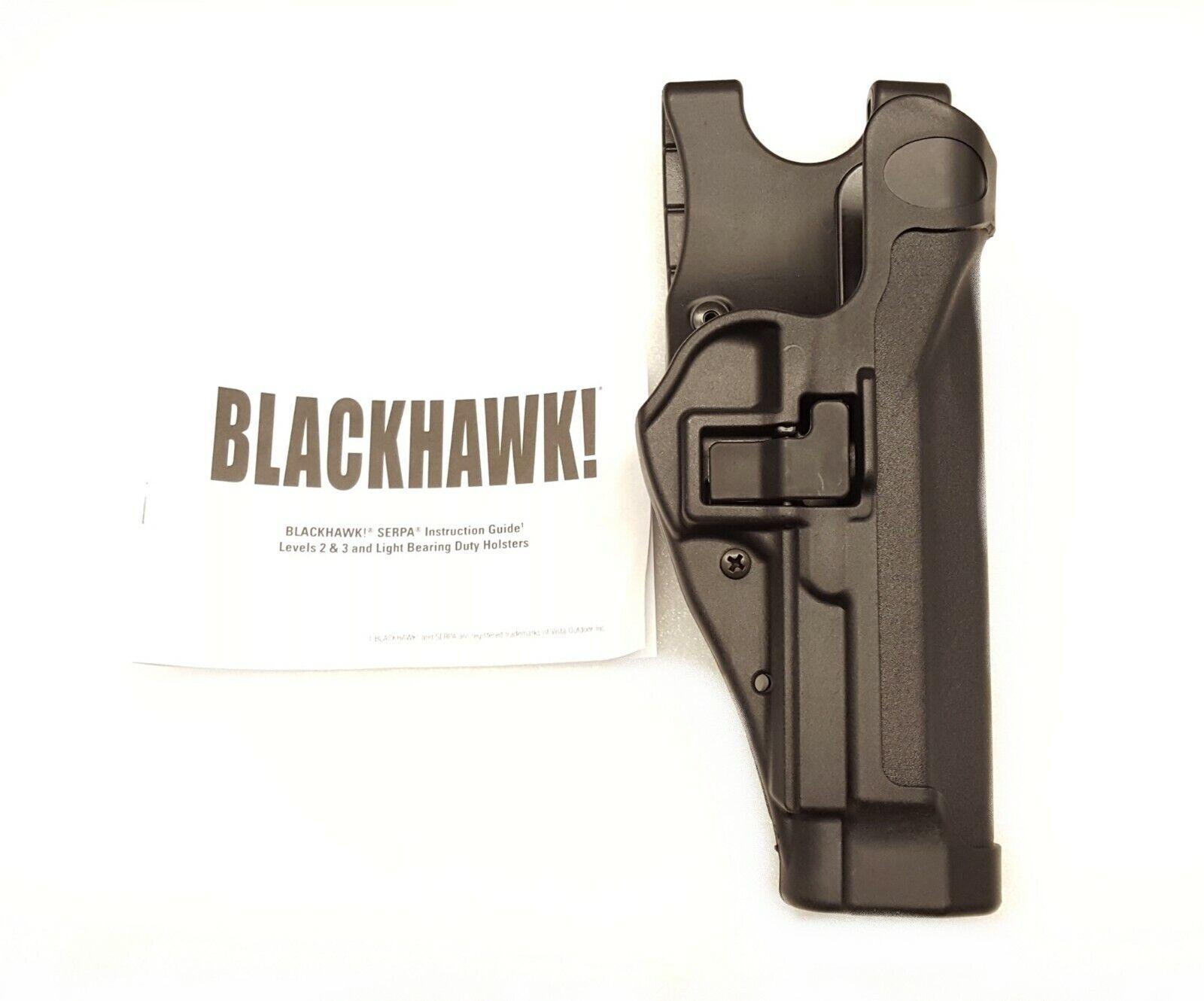 Blackhawk Serpa Level 2 Duty Holster 44H004BK-R NEW