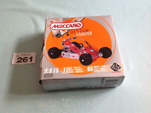 2009 Meccano Design Starter Kit Model 1 New In Box 8-15 Ans
