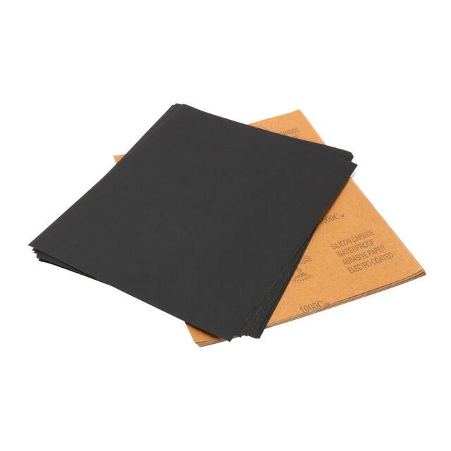 "OSA 9/"" x 11/"" 220 C Grit Waterproof Abrasive Paper Sandpaper 2pk 50 Sheets"