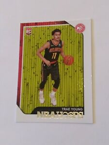 2018-19-Panini-NBA-Hoops-Trae-Young-RC-Rookie-Card-250-Hawks-PSA-or-BGS-9-5-10
