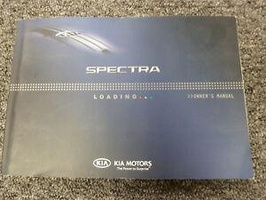 2009 kia spectra owners manual original.