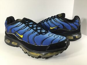 sale retailer 8cb23 44aa2 Details about Nike Air Max Plus 360 Tn Blue Black Yellow 2008 Mens Size 15  Rare 333609-471