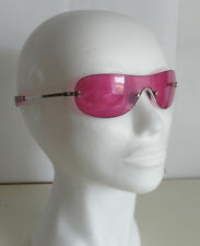 Gafas TOUS Panoramicas 60 mm  ROSA  SUNGLASSES ROSE- como NUEVAS/ TARA