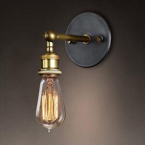 Rétro Applique Murale Lampe Sac Edison Métal Vintage Industrie Loft ...