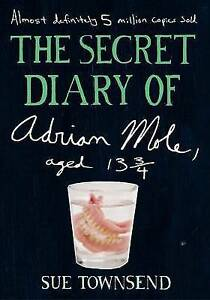 Secret-Diary-of-Adrian-Mole-Aged-13-3-4-by-Townsend-Sue-ExLibrary