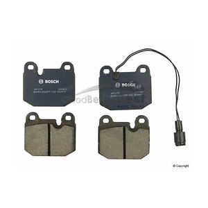 Disc Brake Pad Set-QuietCast Pads Front Bosch BP174