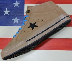 CONVERSE-One-Star-Mid-Counter-Climate-UNRELEASED-SAMPLE-Nubuck-Brown-Shoe-Mens-9