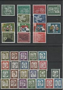 Germany-Federal-Frg-vintage-yearset-Yearset-1961-Mint-MNH-complete-Complete