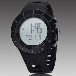 Sport-Black-OHSEN-Digital-Quartz-LED-Light-For-Diving-Rubber-Band-Wrist-Watch