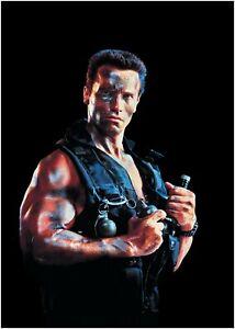 Commando-Arnold-Schwarzenegger-Movie-Large-Poster-Art-Print-Maxi-A1-A2-A3-A4