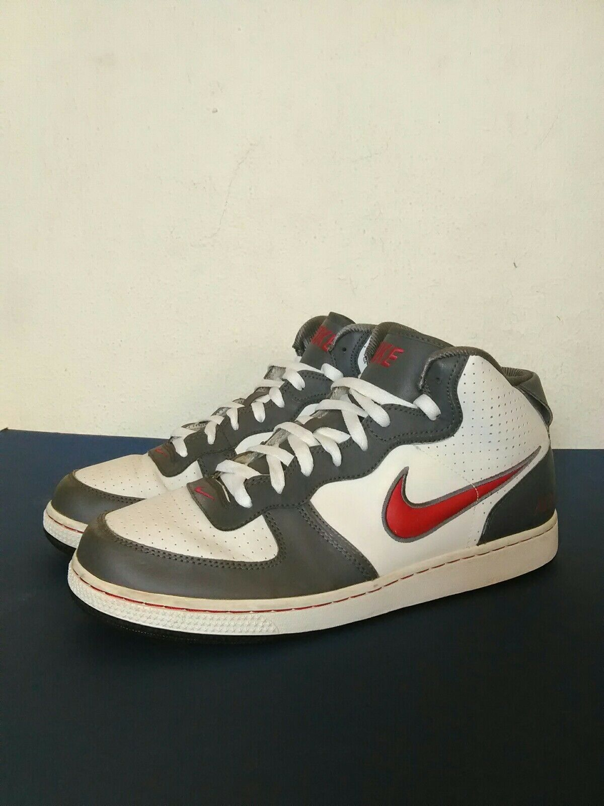 Great discount Nike air basketball men shoes gray/ white size: 11